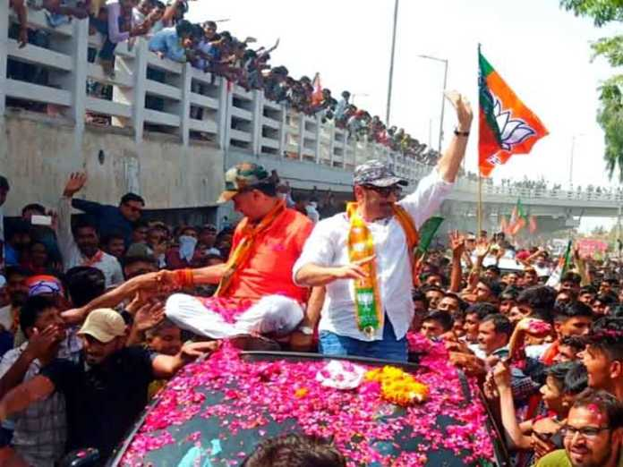 sunny deol road show barmer